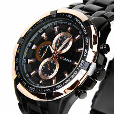 Unbranded Stainless Steel Strap Luxury Wristwatches