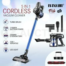 Maxkon 5in1 Vacuum Cleaner 11kPa Cordless Handheld Steam Cleaner HEPA Filter