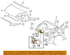 TOYOTA OEM 04-09 Prius Hood-Lock Latch 5351047070