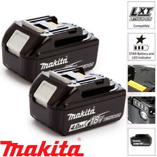 Makita BL1840X2 2 x 18v 4.0Ah LXT Li-ion Genuine Makstar Battery Pack