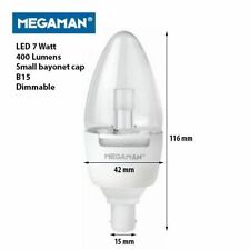 MEGAMAN LED 7W Light Bulbs