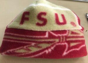 Florida State University FSU Fleece Hat Handmade For Newborn Baby Boys & Girls