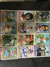 1976 Topps Autograph Signed Lot Of 39