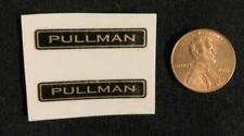 "Two American Flyer 1 3/8"" Pullman Pre-war Waterslide Decals"