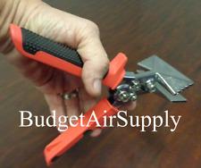 "3"" Hand Seamer Sheet Metal  Edger Bender Crimper HVAC  Metal Working AP"