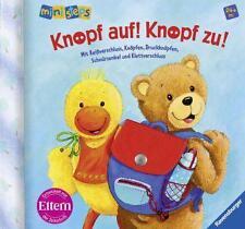 Grimm, Sandra - ministeps Bücher: Knopf auf! Knopf zu!: Ab 24 Monaten