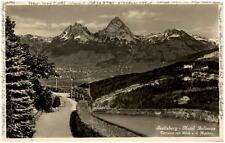 SEELISBERG Schweiz Kanton Uri 1929 Hotel Bellevue Terrasse mit Blick Mythen