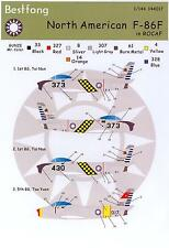 Bestfong Decals 1/144 NORTH AMERICAN F-86F SABRE Republic of China Air Force