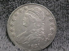 1831 CAPPED BUST HALF -EF CONDITION-FREE SHIPPING
