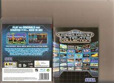 SEGA MEGA DRIVE COLLECTION PLAYSTATION 3 PS3 40 GAMES