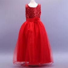 Robes de demoiselle d'honneur rouge sans manches