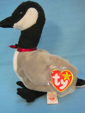 Ty Beanie Babies Collection Loosy Goose Unopened Swing Tag Christmas Holiday