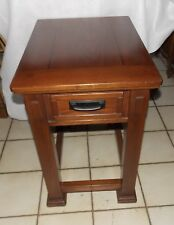 Oak Mission Style End Table / Side Table  (T501)