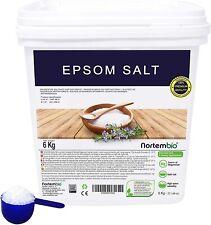 NortemBio Sel d'Epsom 6 Kg Source concentrée de Magnésium Sel 100% Naturel Ebook