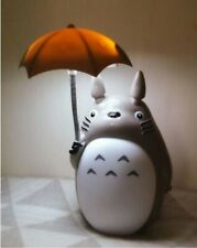 LED Lamp Totoro Umbrella Night Light Kid's Charge USB WHITE Toy Play Gifts