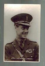 Mint RPPC Postcard King Edward VII Prince of Wales in Army Uniform