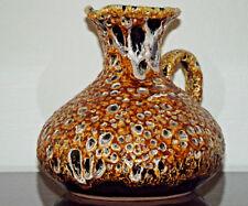 Vase, Fat Lava, Töpfer-Pavillon Bad Breisig, Handarbeit Handmade Original Label