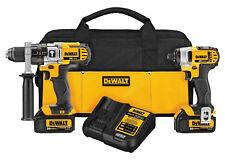 NEW DEWALT Max 20 V 2-Tool Lithium-Ion Hammerdrill & Impact Combo Kit - DCK290L2