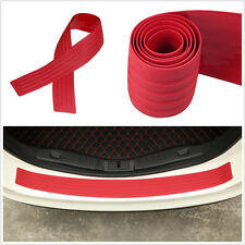 Car Rear Trunk Guard Plate Bumper Sill/Protector Plate Rubber Cover Guard Trim