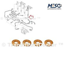 A SET OF 4 OE INJECTOR COPPER WASHER SEAL FORD FIESTA FUSION 1.4 D 2001-2012