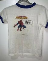 "1975 Marvel Comics Kids T-Shirt ""The Amazing Spider-Man "" (Bob)"