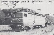 AK UNREAD Morop Congress Sweden litt. RC2 1051 (G2504)