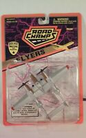 Road Champs Flyers WWII P-38J Lightning Military Airplane Die-Cast Plane NIP
