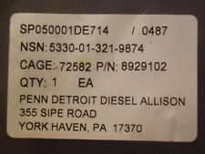 MTU DETROIT OIL PAN GASKET 8929102