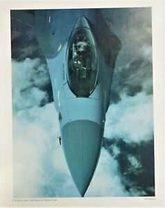 F-16 Falcon Fighter Arizona Natl Guard Jet Airforce Military Poster Photo George