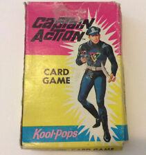 Vintage Captain Action Card Game 1967 Kool Pops-Spiderman-Capt. America-Phantom