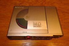 Sony r37 MiniDisc Player/grabador (37) MD para 2 x batería AA