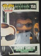 The Matrix Agent Smith 158 Nib Funko Pop! Vinyl Sci-Fi Nerd Block