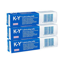 Jelly Ky Lubricating Gel New 82g K-Y Brand Sterile tube (Pack of 3)