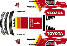 Losi 5ive T Toyota  motorsports Theme wrap decals stickers
