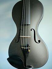 professional grade 100% carbon fiber violin matte finish