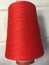 Filmar It Egyptian Mercerized Cotton Cone Yarn 2 Lbs 2 Ozs Brt Red M572 (40N)