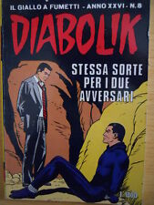 fumetto DIABOLIK ANNO XXVI numero 8