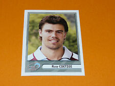 N°146 COETZEE CS BOURGOIN-JALLIEU PANINI RUGBY 2007-2008 TOP 14 FRANCE