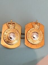 ARMY CATERING CORPS OLD TYPE Collar Badges British Army