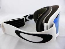 Oakley O2 XS Youth Snow Goggles Matte White - Violet Iridium Lens