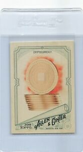 2018 Allen & Ginter #83 Cryptocurrency