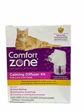 Comfort Zone MultiCat Calming Diffuser Kit, Cat Pheromone Spray, Single Diffuser