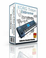 Korg Triton EXTREME Kits/Drum WAV Samples & Sounds Library: digital delivery