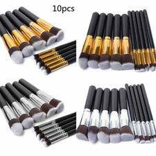 10Pcs Cosmetic Makeup Brush Tool Beauty Contour Foundation Face Lip Kabuki Brush