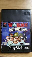 Worms World Party Sony PlayStation ps1 - PAL