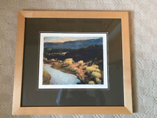 Ken Elliott Framed Art: Rio Chama, Giclee on Somerset Velvet