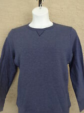 New Just My Size 5X  Comfort Blend Crew Notch Neck L/S Sweatshirt Navy Heather