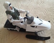 HM Armed Forces arctic warfare skido / snowmobile with Royal Marine figure