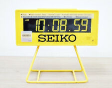 Seiko Countdown Style LCD digital Alarm Clock QHL062Y beep snooze stopwatch NEW