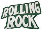 Vintage Rolling Rock  Beer Advertising Tin SIgn  Beer Sign  embossed NOS (c9)